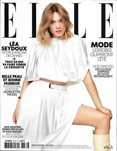 ELLE n°3776 04/05/2018  Léa Seydoux/ Meghan Markle/ Matt Dillon/ Spécial Cannes