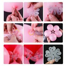 10 Pcs Latex Ballon Blume Form Versiegelung Clip Blatt DIY Party Hochzeit Décor
