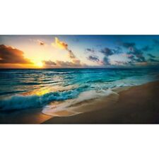 5D Diamond Painting Full Drill Embroidery Cross Stitch Kits Decor Beach sunset