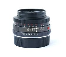 Leica SUMMICRON-R 50mm f/2 MF SLR/cine lens early 1-cam RED SCALE