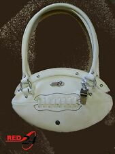 NEW Red24 White FOOTBALL PURSE Slimline Hand Bag+Whistle NFL cheerleader fashion