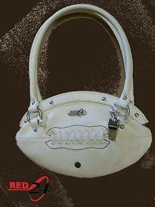 NEW Red24 White FOOTBALL PURSE Slimline Hand Bag+Whistle NFL cheerleader fashion