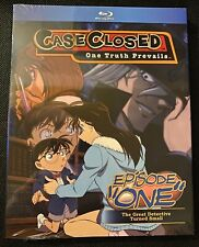 Case Closed Detective Conan Episode One TV Special Blu Ray Discotek Media