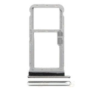 For Motorola Moto G8 Single Sim Card Tray Holder SD Card Tray Parts(XT2045)White