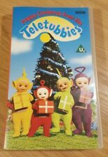 Happy Christmas From The Teletubbies VHS Video UK 1998, Excellent condition