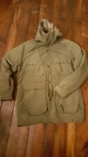 Vintage Woolrich Parka Jacket med Mens Coat Flannel Lined Green USA Sz medium m