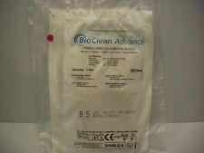 10 Pair BioClean Advance Sterile Long Powder Free Latex Cleanroom Gloves 8.5