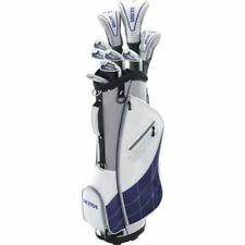 Wilson Womens Ultra RH Beginners Golf Club Set 9 Clubs 3 Head Covers 1 Bag New
