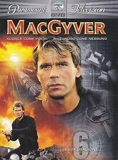 6 Dvd Box Cofanetto **MacGYVER ♦ STAGIONE SESTA 06** completa nuovo