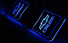 LED Cup Holder Plate DIY Kit Blue 1p For 08 09 10 11 12 Chevy Cruze
