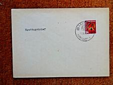 9307) DDR: FDC Ersttagsbrief erster Fünfjahrplan 1951 / Mi. 293 / M€ 24,00