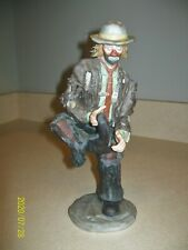 "Flambo 10"" The Emmett Kelly, Jr. Collection - Hole in the Sole #6272 of 10,000"