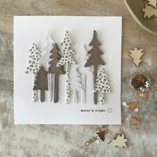 Christmas Tree Metal Cutting Dies Stencil Scrapbooking Embossing Paper Card Gift