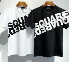 Dsquared2 Black&white T-SHIRT CROSSED DSQUARED slim Fit Special Offer!!