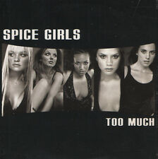 """Spice Girls """"Too Much"""" UK Cardsleeve Promo CD"""