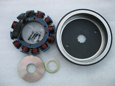 HARLEY DAVIDSON & S&S (STATOR) & (ROTOR) 32AMP W/SEALED ROTOR SPACERS INC.