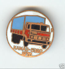 Russian Soviet Automobile KAMAZ-5820 Old Pin Badge