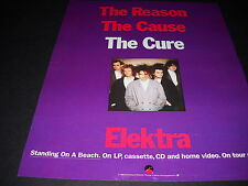 The Cure 1986 Promo Display Ad The Reason - The Cause and The Cure mint cond