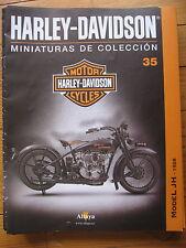 FASCICULE 35  MOTO COLECCION HARLEY DAVIDSON MODEL JH 1928