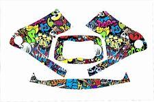 3M Speedglas 9100 Fx Auto Sw Jig Schweißen Helm Wrap Abziehbild Graffiti Slap