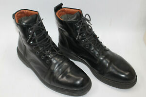 CAMPER men shoes sz 11 Europe 44 black leather S8160