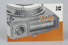 ORIGINAL Kodak Pocket Carousel 200 Slide Projector Instruction Manual
