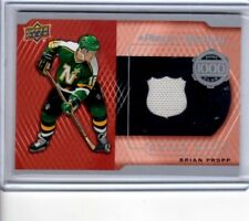 2017-18Upper Deck A piece of History 1000 Point Club #PC-BP Brian Propp