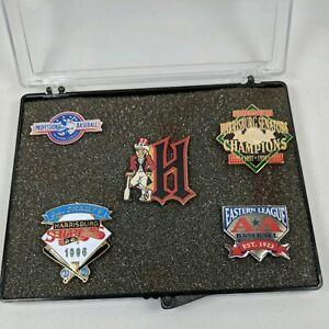 Harrisburg Senators MILB Pin Lot Bundle of 5 Baseball Pins Minor League 90's