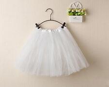 Ladies Girls Women Adult Tutu Skirts Mini Ballet Princess Fancy Dress Party