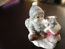 "Dreamsicles Figurine Winter Wonderland January Cherub Dc180 5 1/2"" H Pre-Owned1"