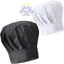 CAPPELLO da CUOCO Unisex REGOLABILE Cucina CHEF Cotone BAR Uomo DONNA Lavoro PUB