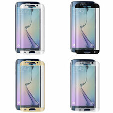 Samsung Galaxy S7 Edge S6 Edge Plus Tempered Glass 3D Protector + TPU Case Cover