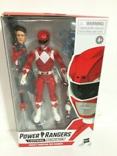 IN HAND! Power Rangers * Mighty Morphin Red Ranger * Lightning Collection 6-Inch