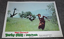 Darby O'Gill And The Little People original lobby card Sean Connery/Janet Munro