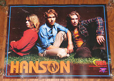 Hanson - Tower Records Promo Poster - Isaac, Zac, Taylor