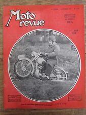 ANCIENNE REVUE MOTO REVUE N° 1123 FEVRIER 1953 LE SIDE CAR