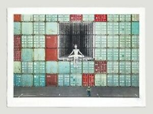 JR Art -In the container wall.Signed. Le Havre.ltd edition 180. Social Animals.