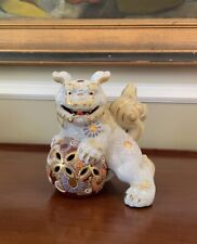 New listing Ornate Vintage Foo Dog Lion Sculpture