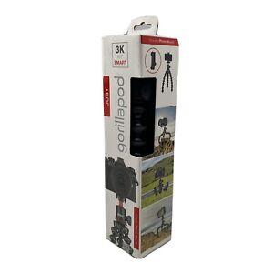 JOBY - GorillaPod 3K SMART Kit Tripod - Black/Red/Charcoal Adjustable Portable