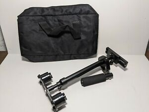 "Handheld Aluminum Alloy Stabilizer 24"" with 1/4"" Screw Quick Shoe Plate"