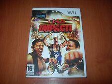 TNA IMPACT! TOTAL NONSTOP ACTION WRESTING Wii (PAL ESPAÑA PRECINTADO)