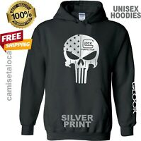 GLOCK PERFECTION PUNISHER SOFT HOODIES - SWEATSHRT QUALITY PREMIUM -GIFT UNISEX