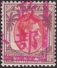 MALACCA, 1942. J. Occ Scott N10, Signed, Mint