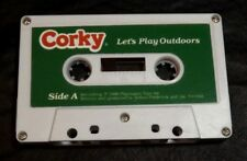 TALKING CORKY DOLL CRICKET'S BROTHER AUDIO TAPE TITLED LET'S PLAY OUTDOORS