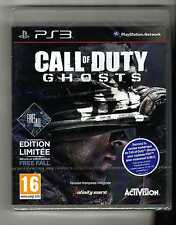 COD CALL OF DUTY GHOST + FREE FALL PS3 NEUF VF INTEGRALE