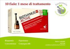 BIOTHYMUS ACTIVE Fiale Anticaduta UOMO Capelli Trattamento 1 mese 10 fiale