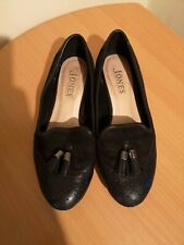 Jones Bootmaker Leather Loafer Shoes Tassel Brogue school work 4UK EU 37