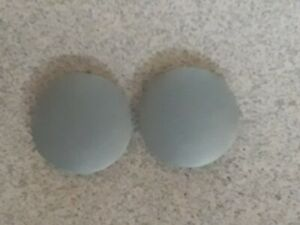GENUINE DYSON  GLAMOUR CAPS/WHEEL COVERS For DC07 DC14 GOOD CONDITION D/Grey