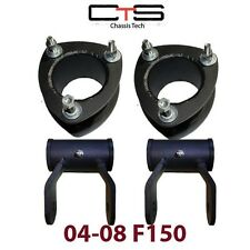 "04-2012 F-150 3"" Full LIft Kit Shackles Shackle Front 3"" rear 2"" spacer level"