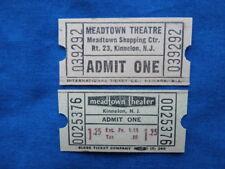 - Rochester PA Drive In Movie//Cinema Vintage 5 Oriental Theatre Tickets Lot